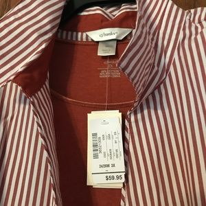 BRAND NEW Crimson/White Color shirt ($59.95)